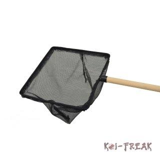 Kescher und st be koi freak online shop japan koi for Teich eckig
